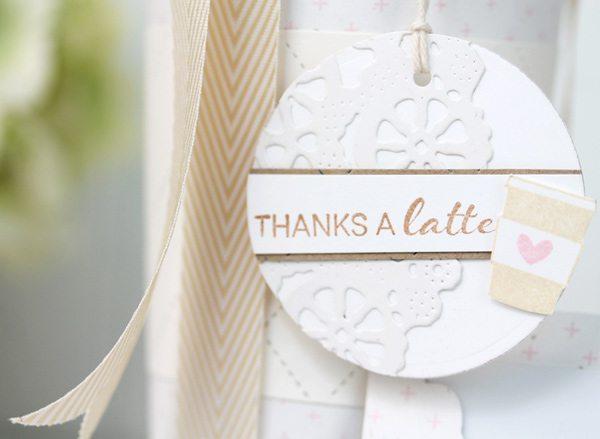 Handmade Thanks a Latte | Damask Love Blog