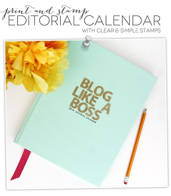 Staying Organized with an Editorial Calendar