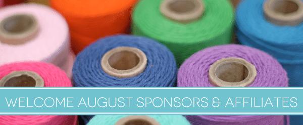 August Sponsors & Affiliates
