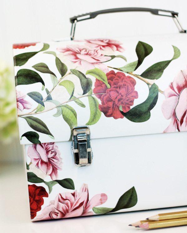 Decoupage Lunch Box Stationery Kit | Damask Love Blog