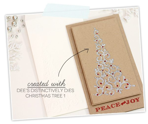 Christmas Tree Die by Dee's Distinctively | Damask Love Blog