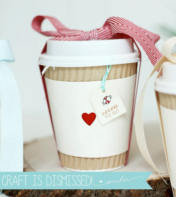 Hot Cocoa to Go-Go Gifts | Damask Love Blog