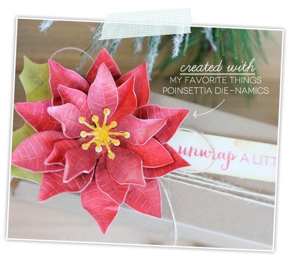 Poinsettia Die | Damask Love Blog