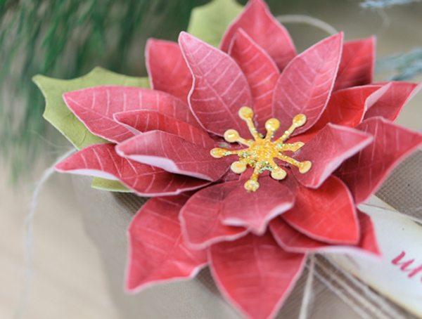 Toile Gift Guide: PanPastel Poinsettia Tutorial   Damask Love Blog