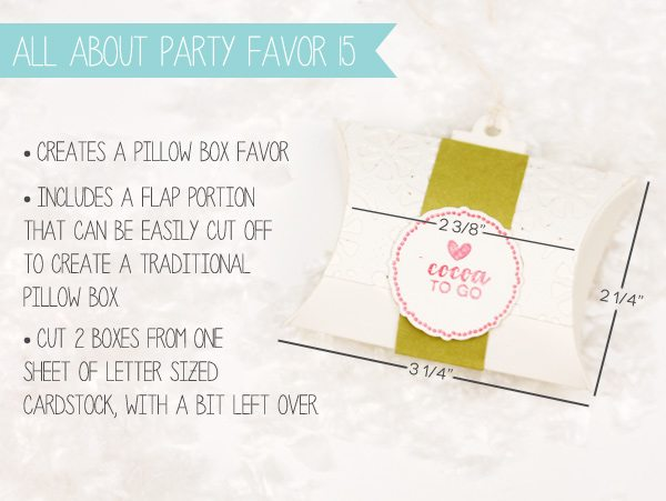 How to Make a Pillow Box Tag | Damask Love Blog