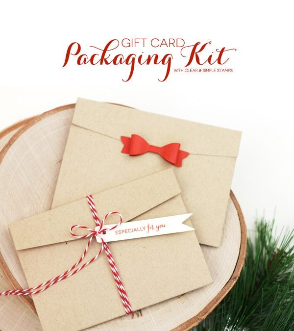 Style Watch: Gift Card Packaging Kit