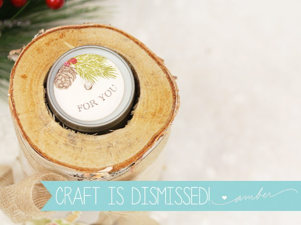 Design Inspired: Birch Bark Candles