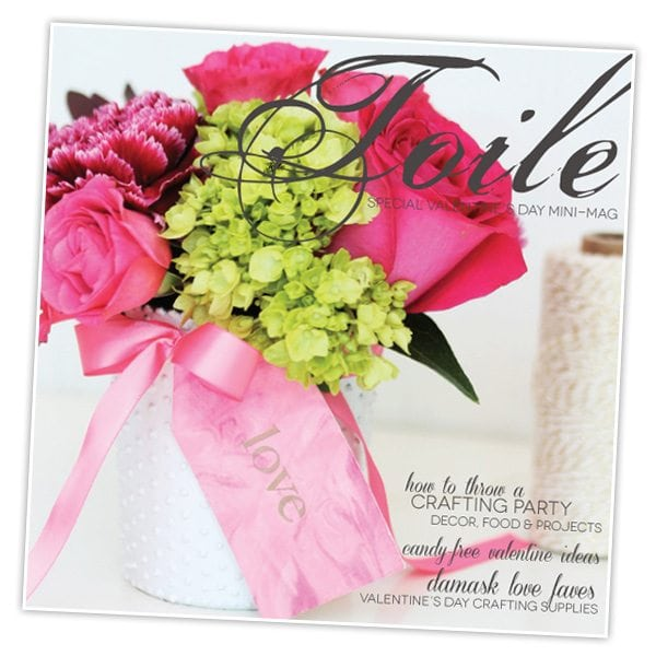Toile Special Valentine's Day Issue | Damask Love Blog