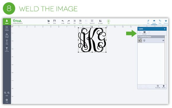 How to Make an Iron-on Monogram   Damask Love Blog