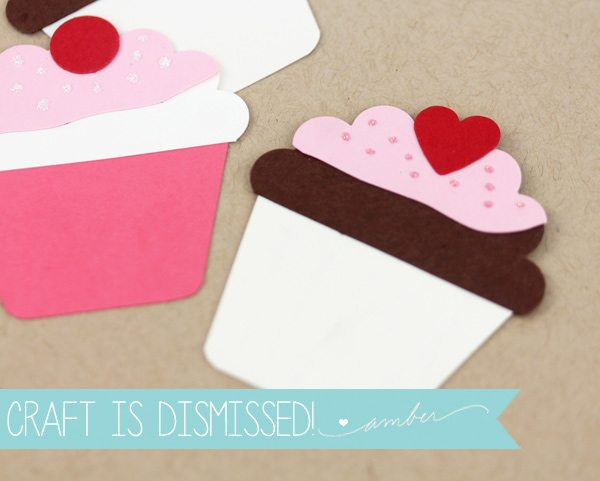 Easy Like Sunday Morning: Paper Punch Cupcakes   Damask Love