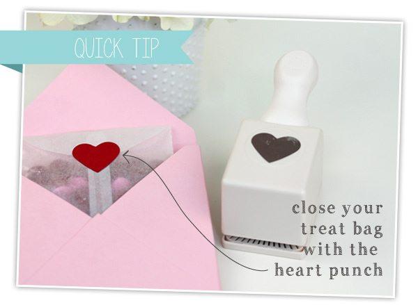 Simple Donut Valentine's | Damask Love Blog