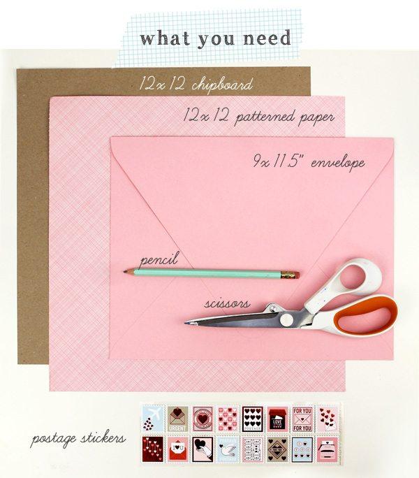Giant Valentine Envelopes | Damask Love Blog