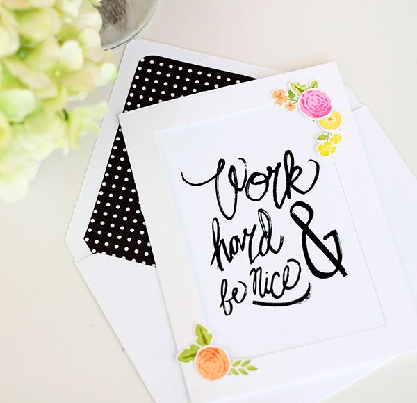Art Print Stationery | Damask Love Blog