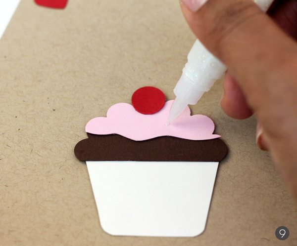 Easy Like Sunday Morning: Paper Punch Cupcakes | Damask Love