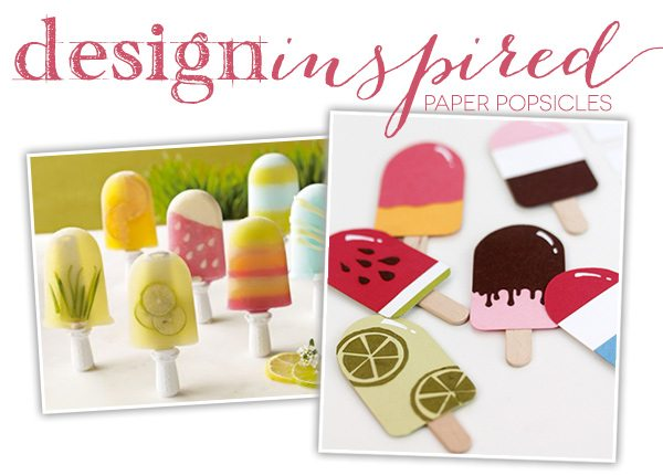 Paper Punch Popsicles | Damask Love