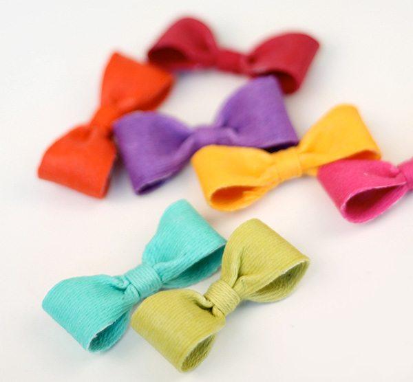 Baker's Twine Mini Bows | Damask Love Blog