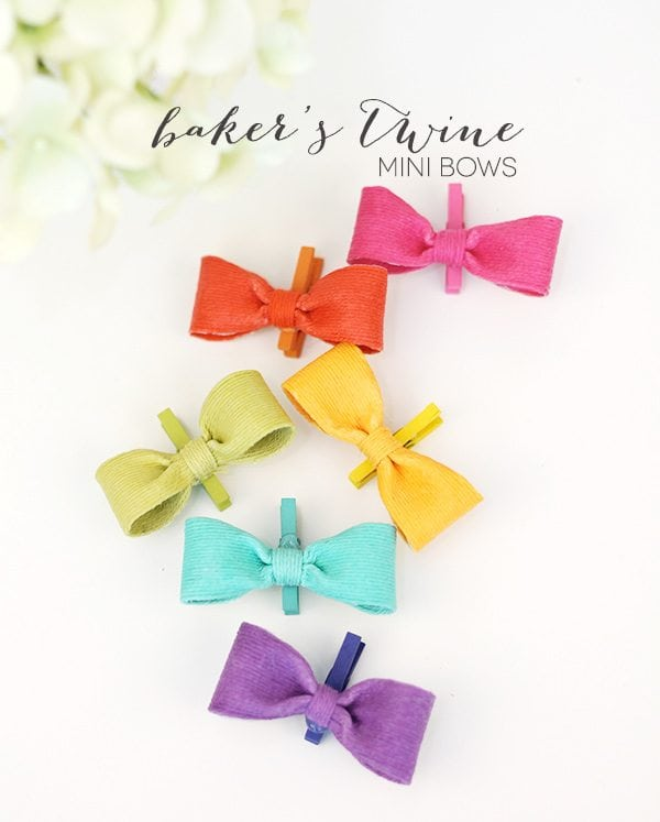 Bakers Twine Bow