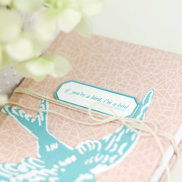 If You're a Bird Notebook  | Damask Love