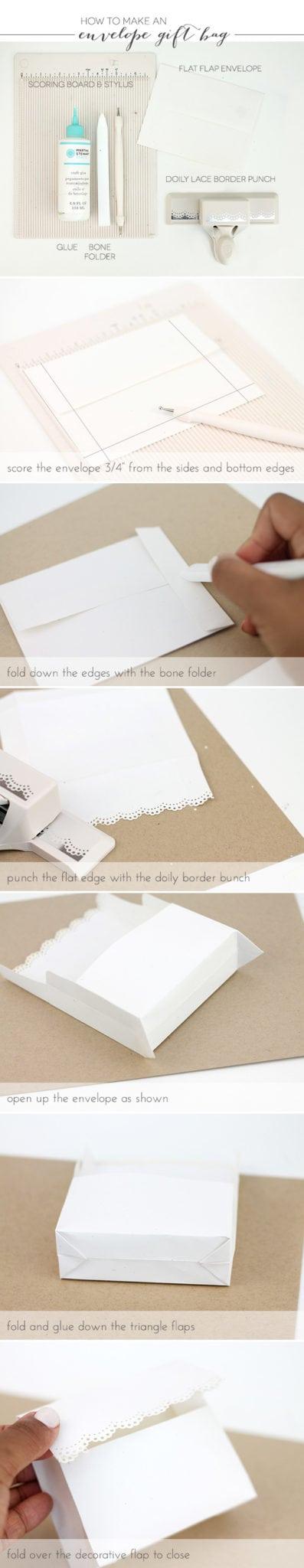 Easy Like Sunday Morning: Envelope Gift Bags |  Damask Love