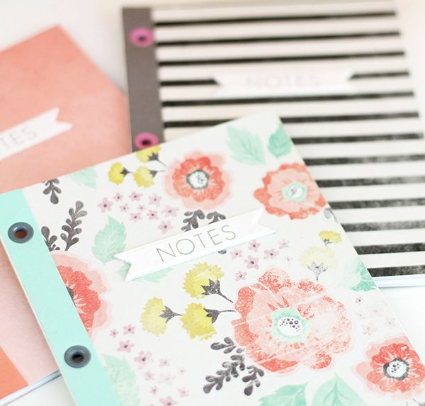 Eyelet Bound Notebooks | damask love