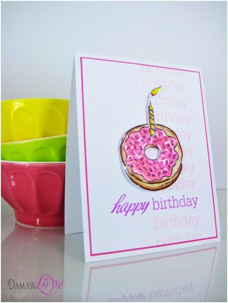 Birthdays are for fun, enjoy a sticky bun…or a donut!