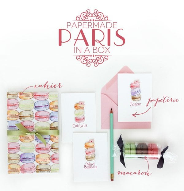 Craftroom Crush: Papermade Paris in a Box