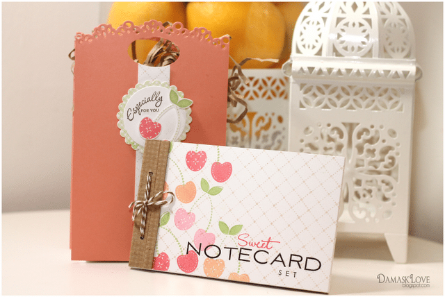 Papertrey Ink July Blog Hop: A Sweet Notecard Set