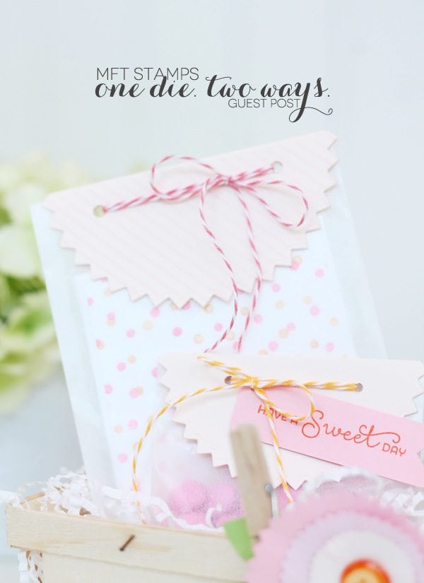 One Die, Two Ways – with MFT Stamps