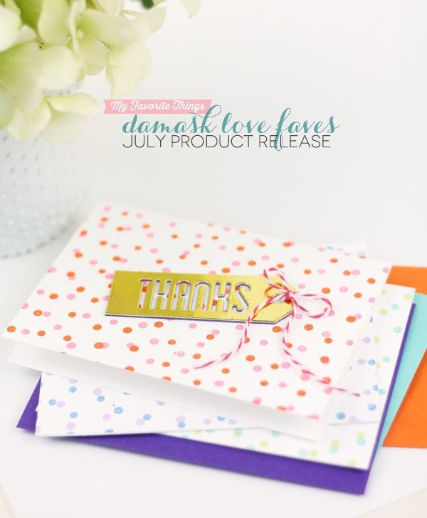 Damask Love Faves from MFTStamps