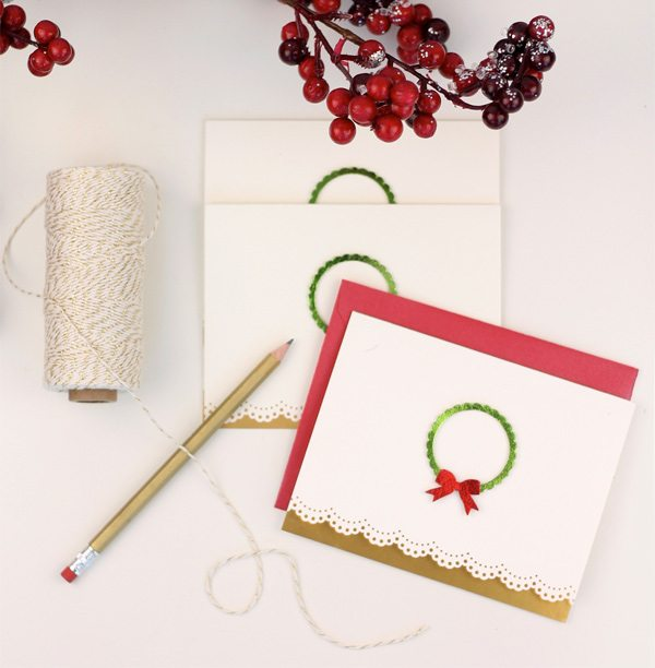 Foil Transfer Sheet Stationery | Damask Love
