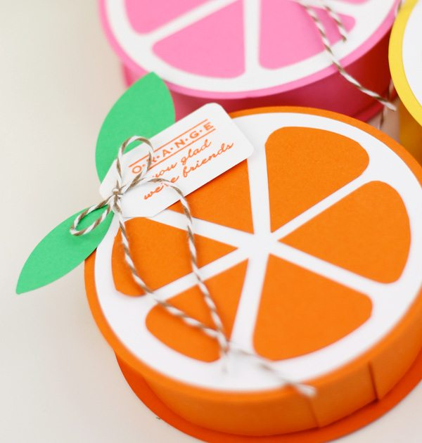 Summer Citrus Treat Boxes | Damask Love