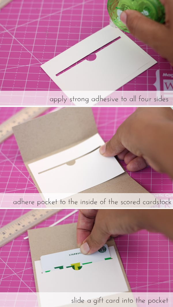 Easy Gift Card Pockets | Damask Love