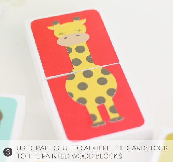 DIY Animal Puzzle Blocks with Cricut Explore Print Then Cut