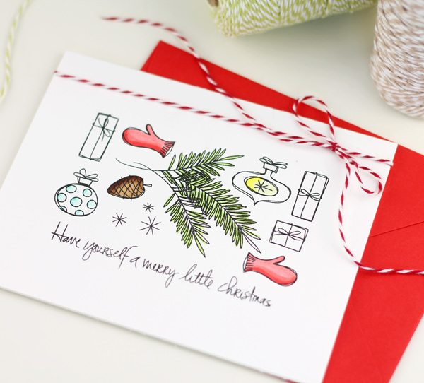Quick and Easy Holiday Card Ideas | Damask Love