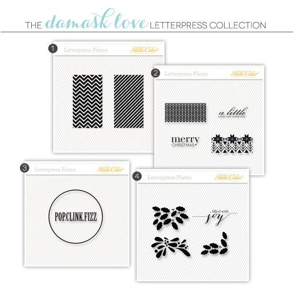 Damask Love & Studio Calico Letterpress Tags | Damask Love