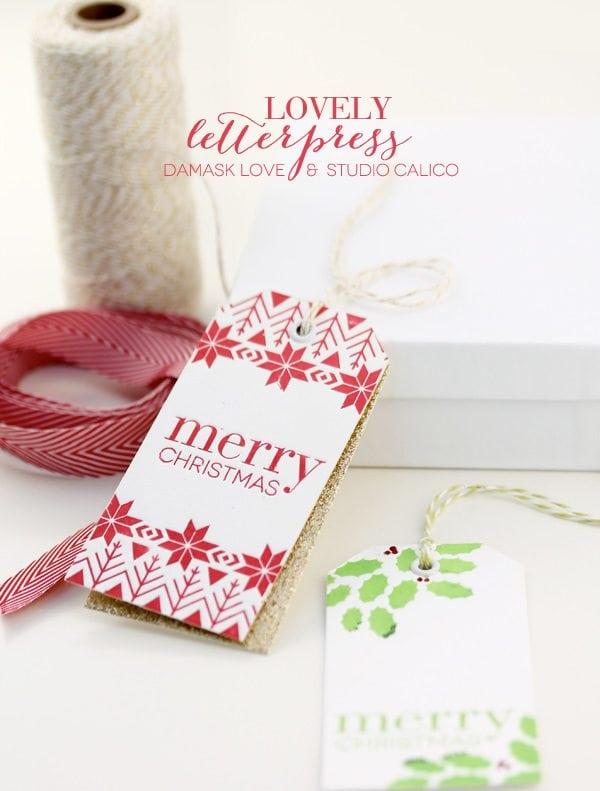 Lovely Letterpress DesignsDamask Love  Studio CalicoDamask Love