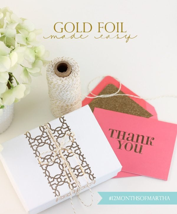 Gold Foil Made Easy