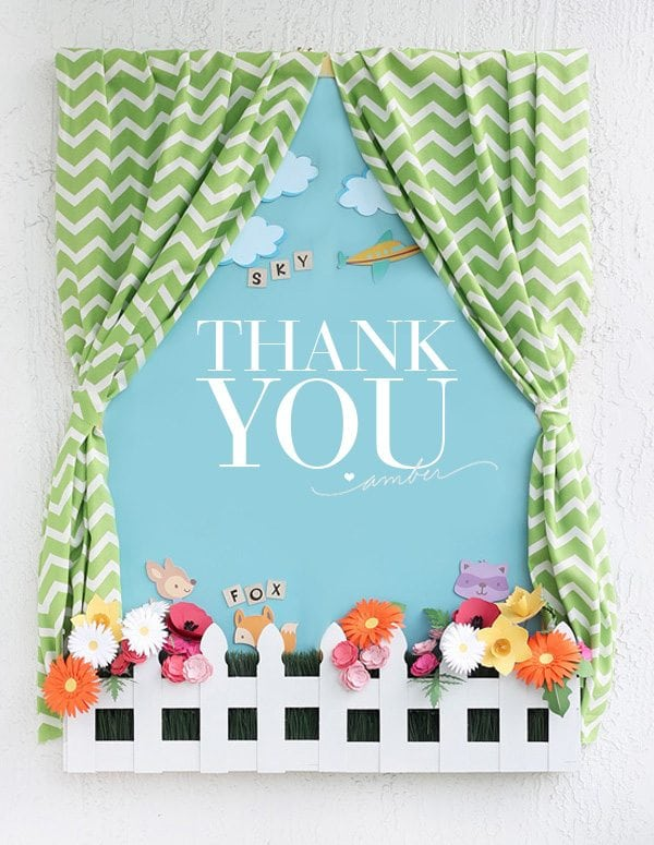 Cricut Design Space: Thank YOU!