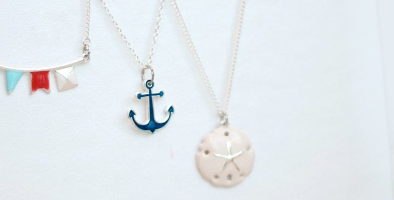 12 Months of Martha: DIY Nautical Jewelry