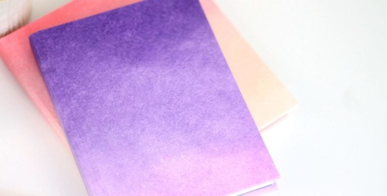 DIY Ombre Journals
