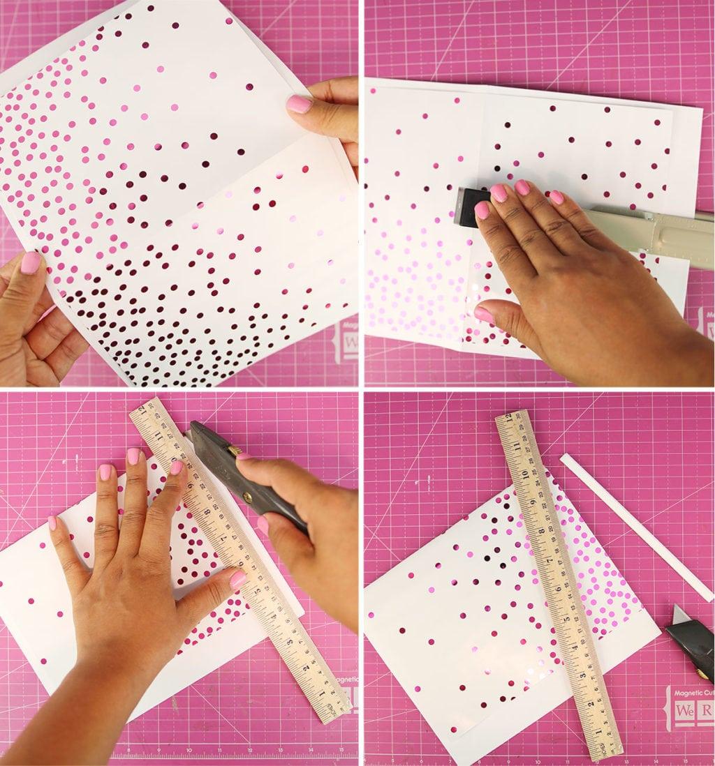 Minc Foiled Notebooks Step 3