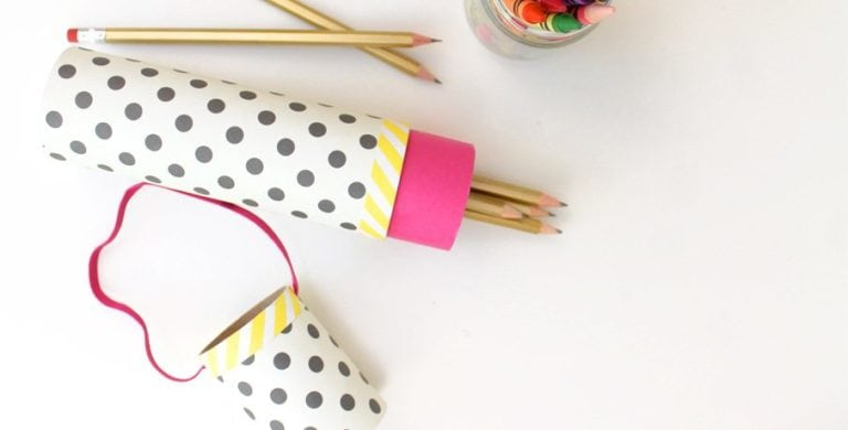 How to Make a Mail Tube Pencil Case
