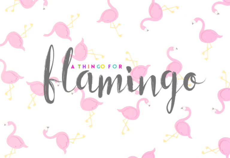 Damask Loves:: Flamingos