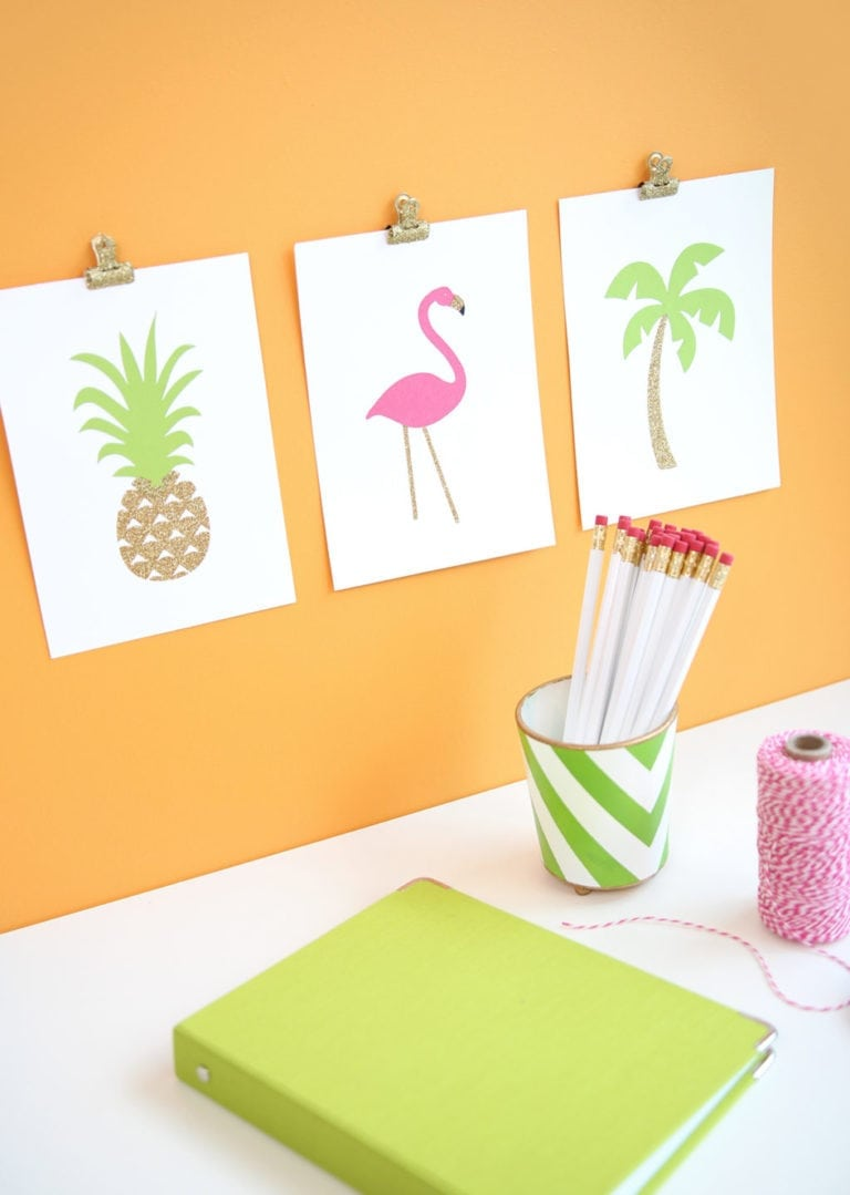 DIY Tropical Trio Prints