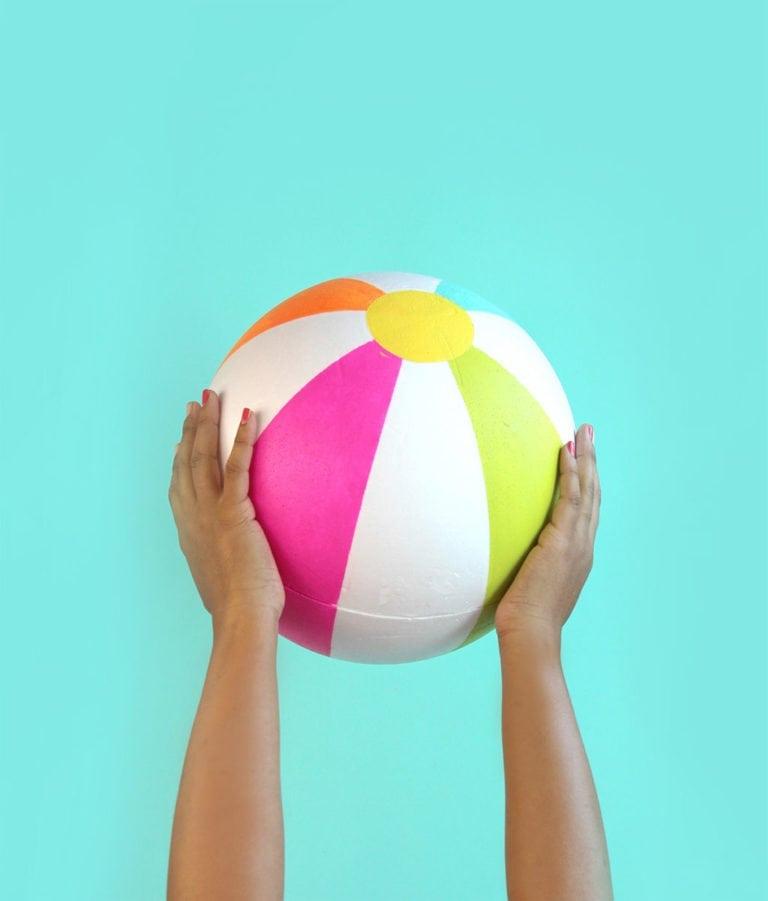 DIY Beach in a Ball
