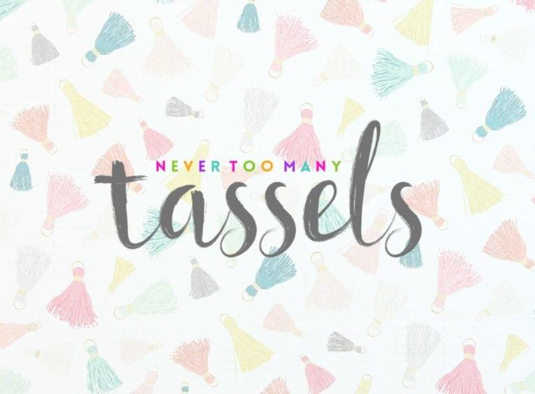 Damask Loves:: Tassels