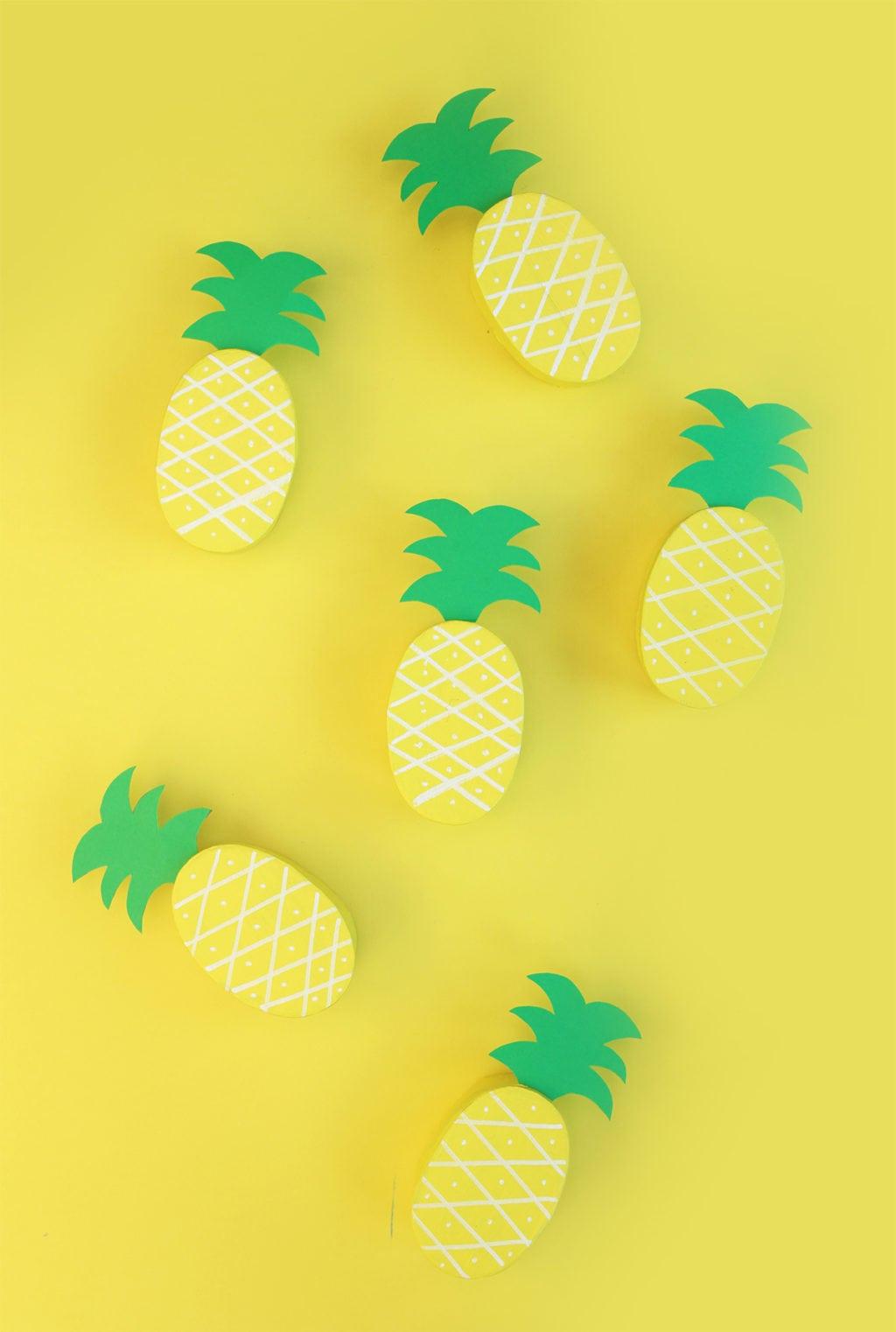 DIY Pineapple Treat Boxes | damask love