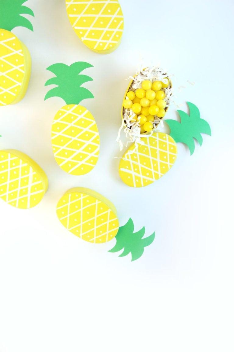 Pineapple Treat Boxes