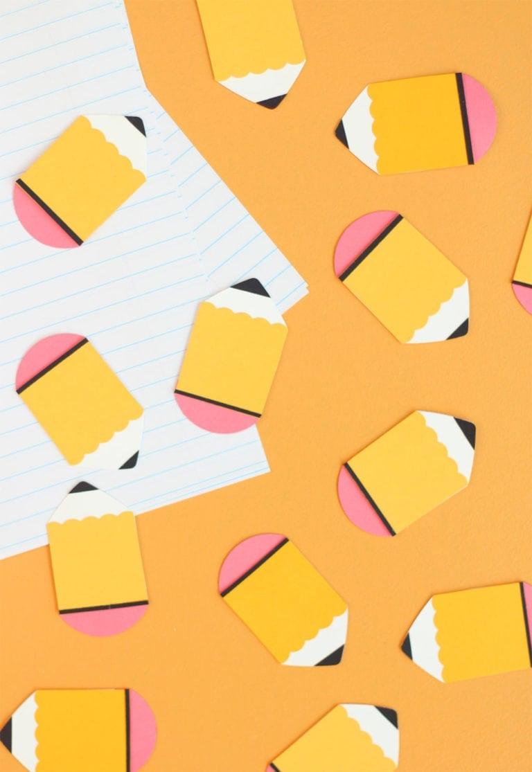 Paper Punch Pencils