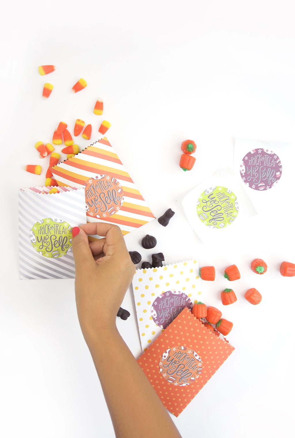 Trick or Treat Yo Self Treat Bags | Damask Love